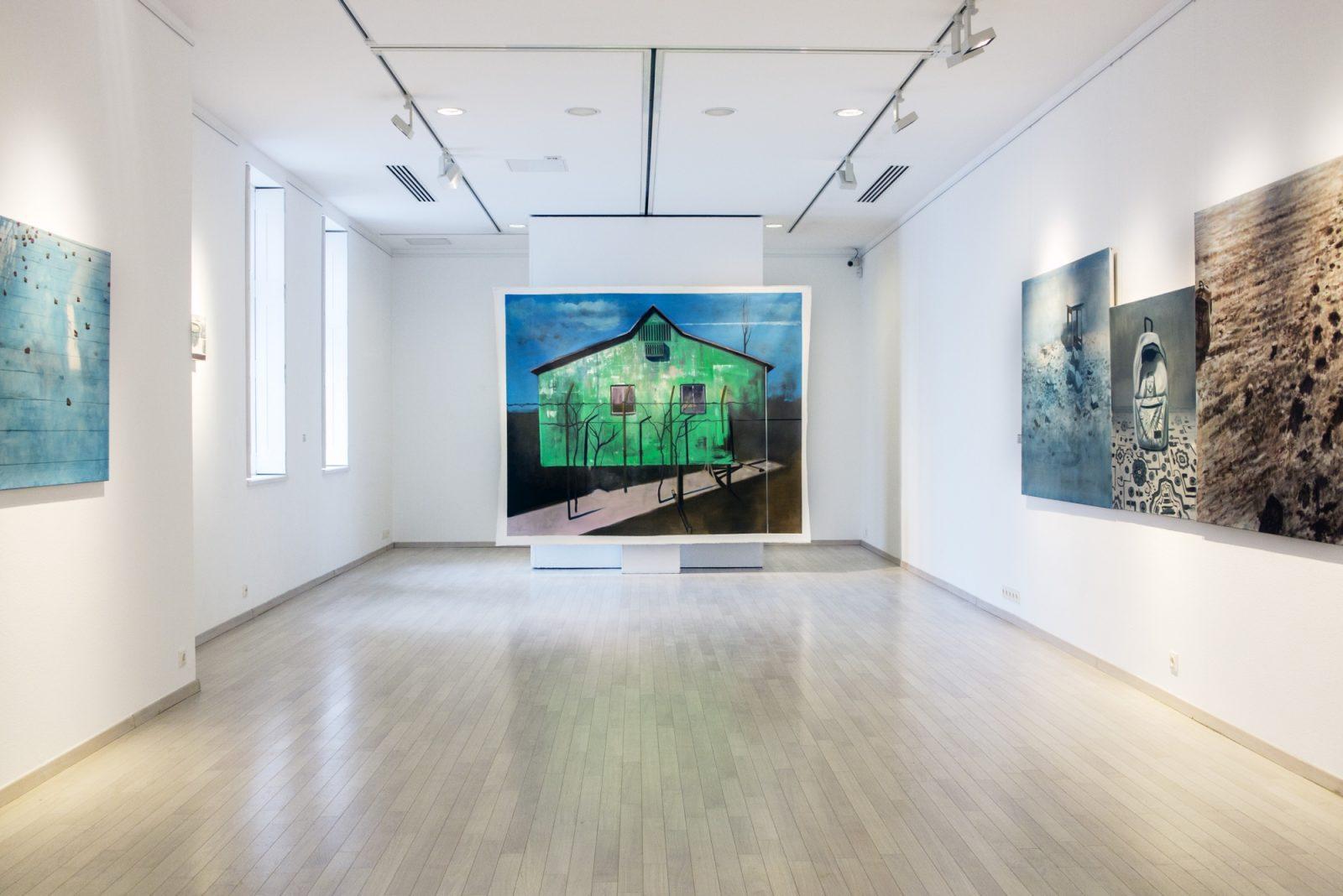 Herman Levente: Illúzió - kiállítás a Várfok Galériában, 2016.