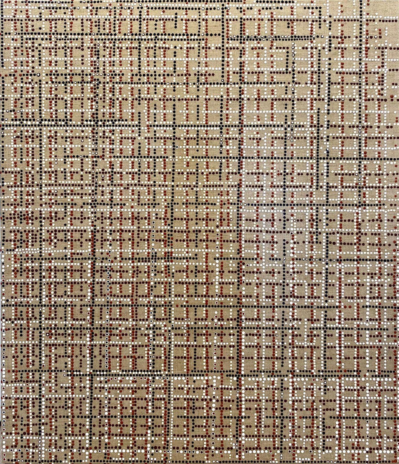 Keseru_Cn2104292_XXth century series_Piet Mondrian_Meets the Koories_Australian Aborginees